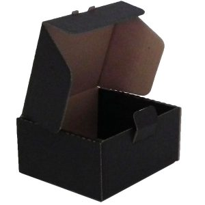 100mm x 92mm x52 mm (CODE BU001BK Pack of 10)