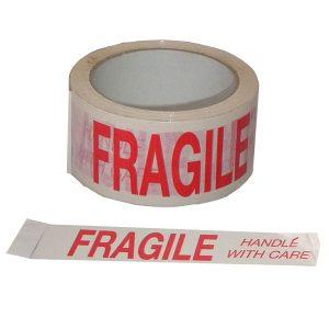Fragile Tape 66m x 50mm (1 Pack)