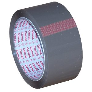 Brown PVC Tape 66m x 50mm (1 Pack)