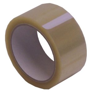 Clear PVC Tape 66m x 50mm (1 Pack)