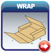 Folding Wrap Type Boxes